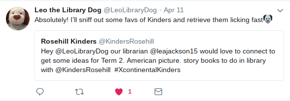Leo the Library Dog LeoLibraryDog Twitter
